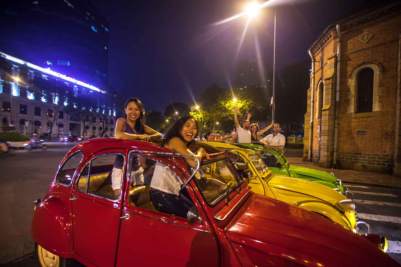 Saigon by Vintage Car