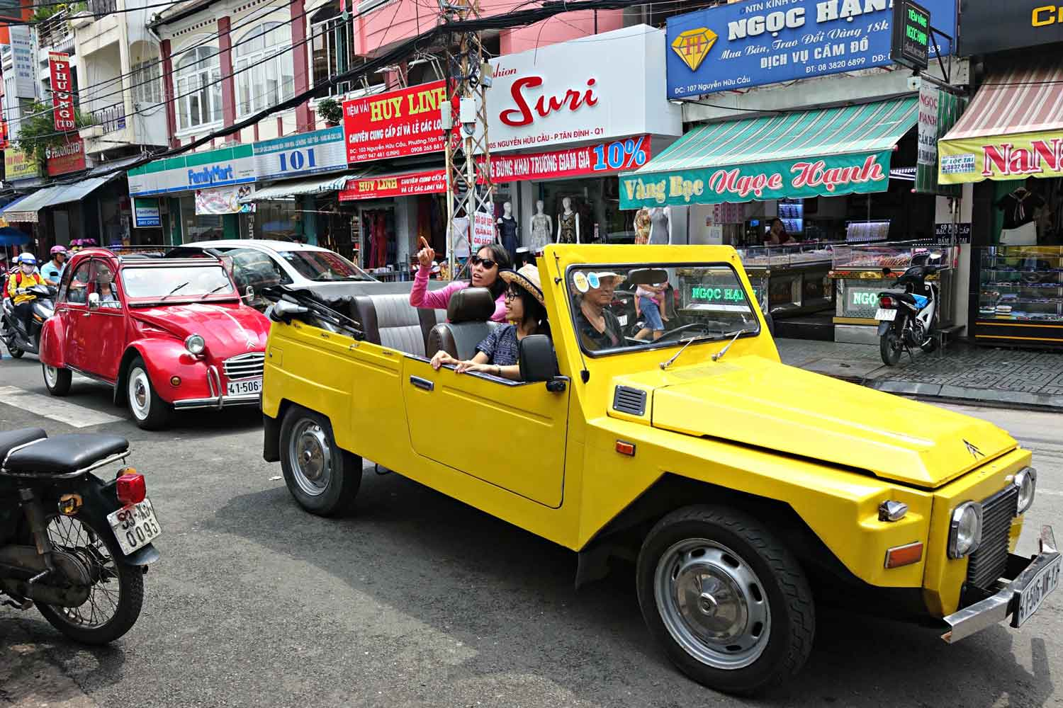 Saigon by Vintage Car