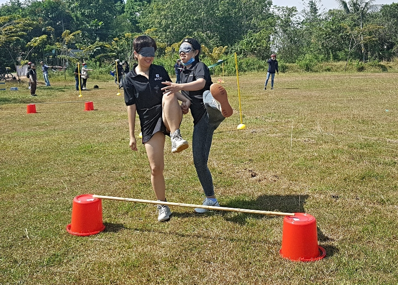New team building game in Cu Chi